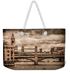 London, England - London Bridges Weekender Tote Bag