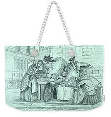 London Coffee Stall Weekender Tote Bag
