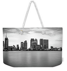 London Docklands Weekender Tote Bag by Martin Newman