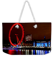 London Eye Weekender Tote Bag by Heather Applegate