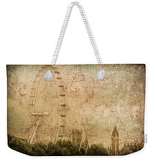 London, England - London Eye Weekender Tote Bag