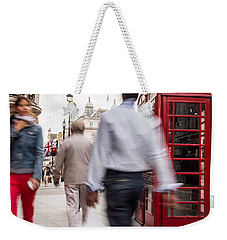 London In Motion Weekender Tote Bag