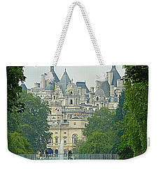 London In The Morning Weekender Tote Bag