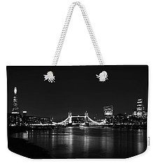 London Night View Weekender Tote Bag by Mark Rogan