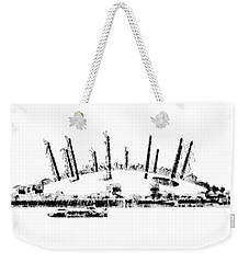 London O2 Arena Weekender Tote Bag