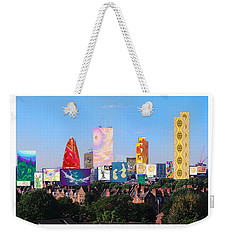 London Skyline Collage 1 Weekender Tote Bag