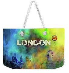 London - Skyline Weekender Tote Bag