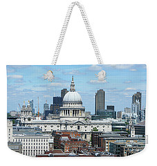 London Skyscrape - St. Paul's Weekender Tote Bag