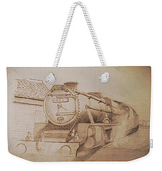London Steam Locomotive  Weekender Tote Bag