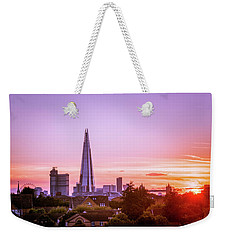 London Sunset Weekender Tote Bag by Matt Malloy