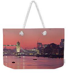 London Thames Weekender Tote Bag