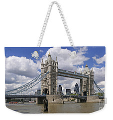 London Towerbridge Weekender Tote Bag
