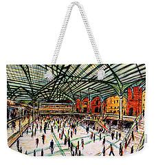 London Train Station Weekender Tote Bag