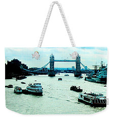 Weekender Tote Bag featuring the photograph London Uk by Michelle Dallocchio