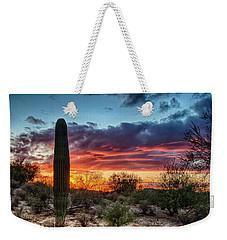Lone Cactus Weekender Tote Bag
