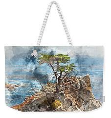 Lone Cypress In Monterey California Weekender Tote Bag