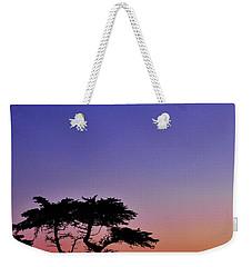 Lone Cypress Tree At Pebble Beach Weekender Tote Bag