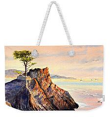 Lone Cypress Tree Pebble Beach Weekender Tote Bag