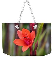 Lone Flower Weekender Tote Bag