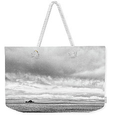 Weekender Tote Bag featuring the photograph Lone Island In The Pacific by Jingjits Photography