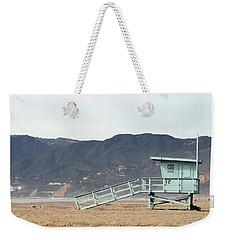 Lone Lifeguard Tower Weekender Tote Bag