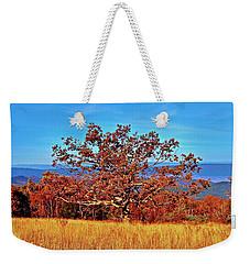 Lone Mountain Tree Weekender Tote Bag