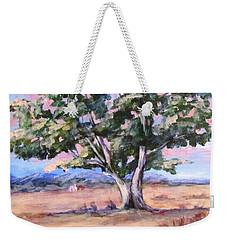Lone Oak Weekender Tote Bag by Barbara O'Toole