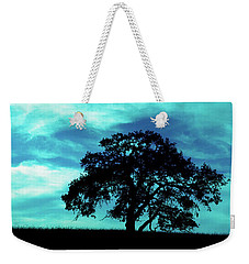 Weekender Tote Bag featuring the photograph Lone Oak by Jim and Emily Bush