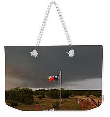 Lone Star Supercell Weekender Tote Bag by Ed Sweeney