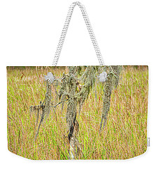Lone Survivor Weekender Tote Bag by Andy Crawford