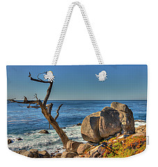 Lone Tree California Coast Weekender Tote Bag by James Hammond