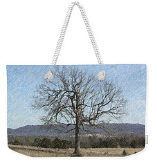 Lone Tree Weekender Tote Bag by Donna G Smith