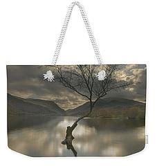 Lone Tree Reflection Weekender Tote Bag