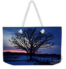 Lone Tree Road Weekender Tote Bag by Kathy M Krause