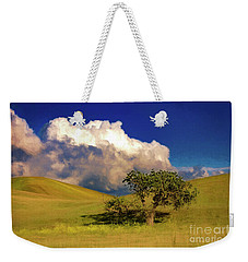 Lone Tree With Storm Clouds Weekender Tote Bag
