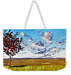 Lonely Autumn Tree Weekender Tote Bag