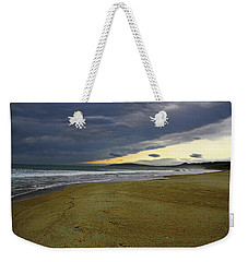 Lonely Beach Weekender Tote Bag