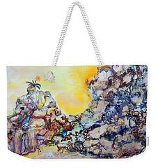 Lonely Flower Weekender Tote Bag