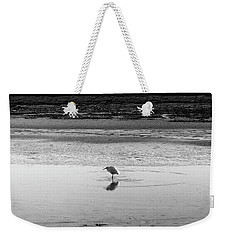 Lonely Heron Weekender Tote Bag