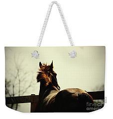 Lonely Horse Weekender Tote Bag