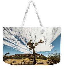 Lonely Joshua Tree Weekender Tote Bag by Amyn Nasser