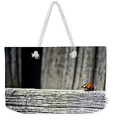 Lonely Ladybug Weekender Tote Bag