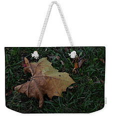 Lonely Leaf Weekender Tote Bag