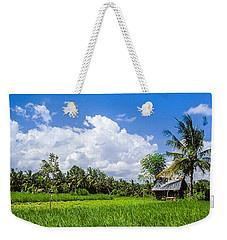 Lonely Rice Hut Weekender Tote Bag