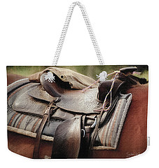 Lonely Saddle  Weekender Tote Bag