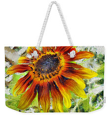 Lonely Sunflower Weekender Tote Bag