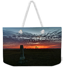 Lonely Sunset Weekender Tote Bag