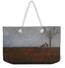 Lonely Tree With Two Roes Weekender Tote Bag