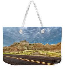 Lonesome Highway Weekender Tote Bag