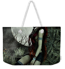 Lonesome Night Weekender Tote Bag by Jutta Maria Pusl